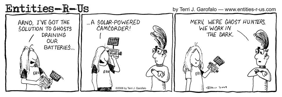 Solar CamCord