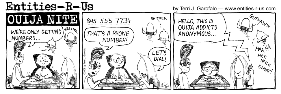 Ouija Numbers