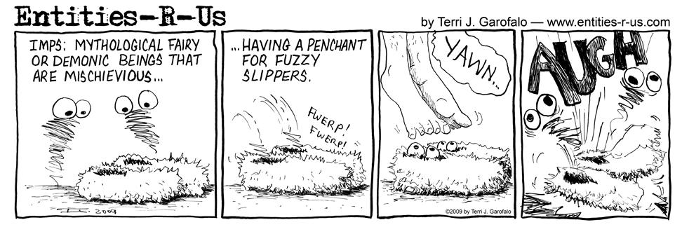 Imp Slippers