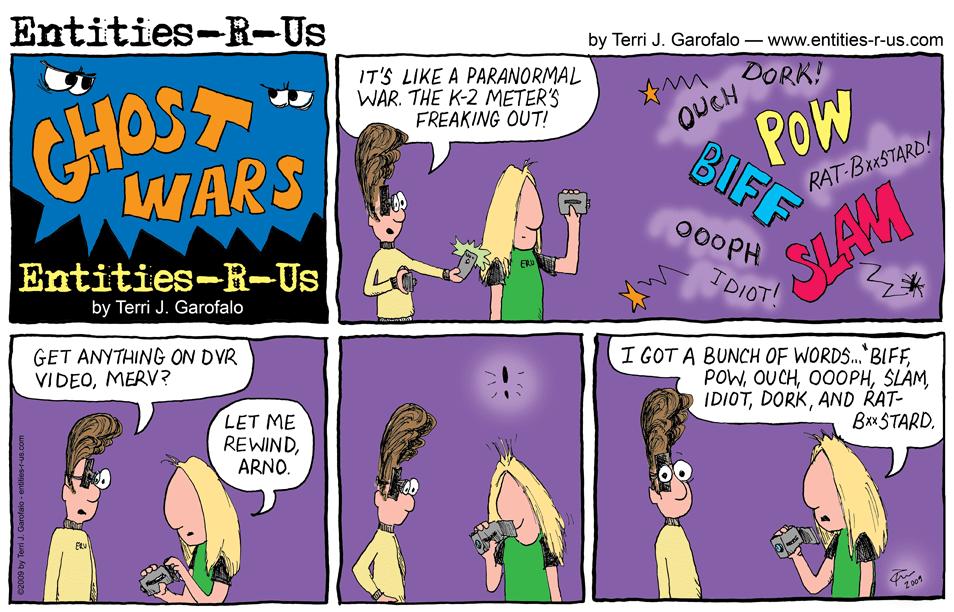 Ghost Wars Words