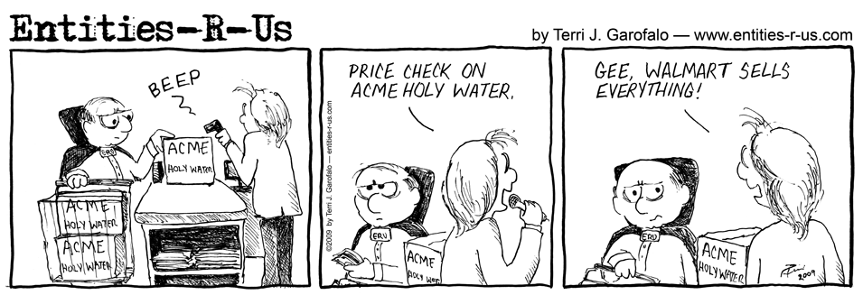 Walmart Holy Water