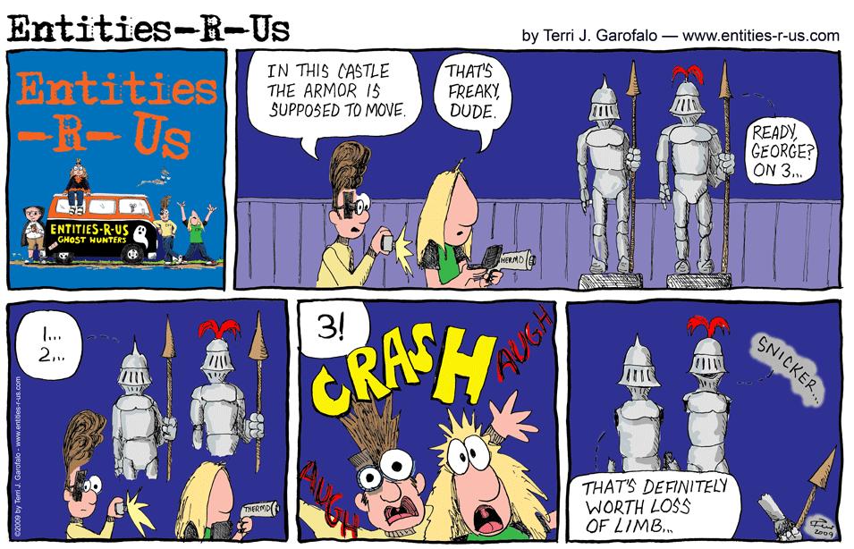 Haunted Armor
