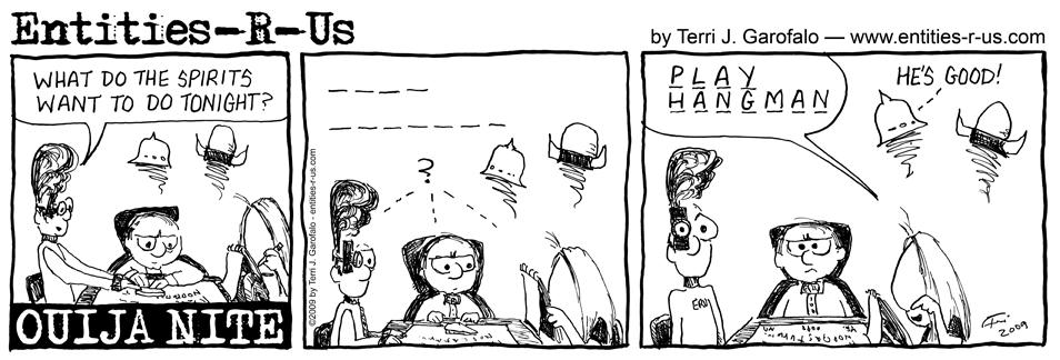 Ouija Hangman