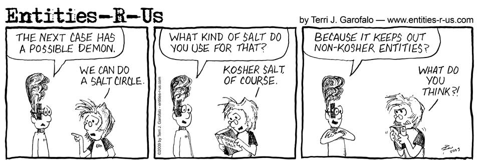 Kosher Salt Circle