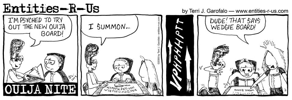 Ouija Wedgie