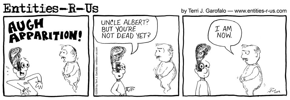 Uncle Albert Apparition