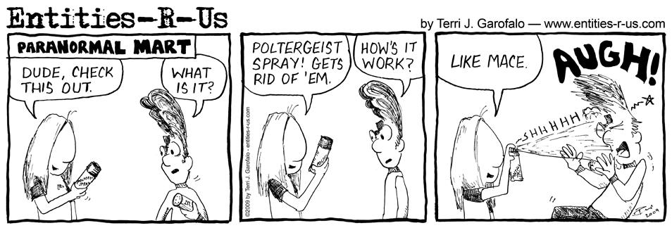 Poltergeist Spray