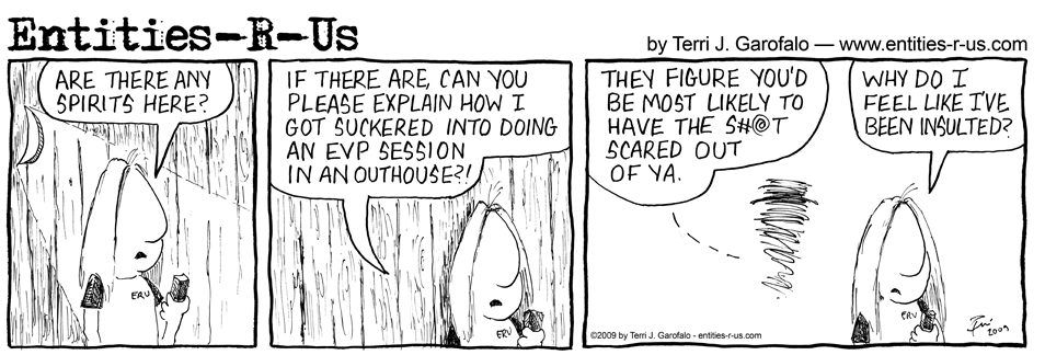 Haunted Outhouse Insult