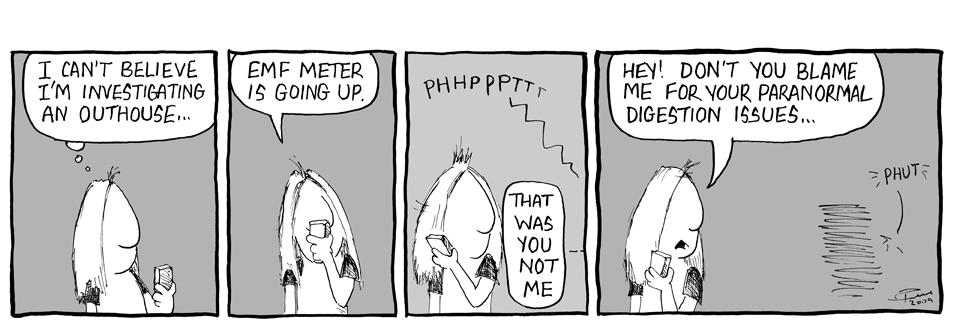 Haunted Outhouse EVP