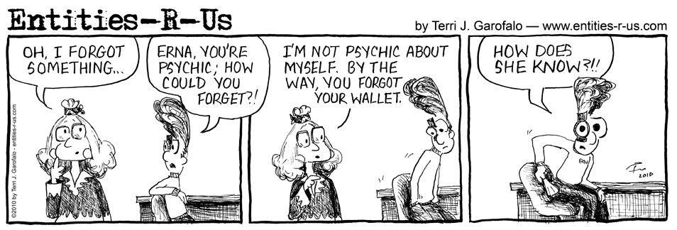 Psychic Forgets