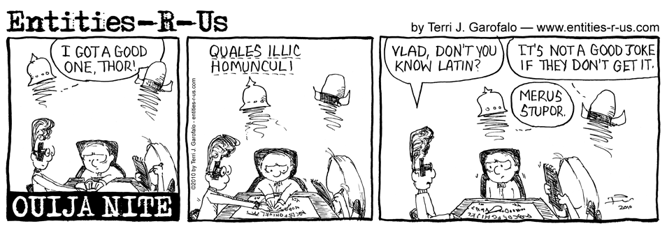 Ouija Latin Insults