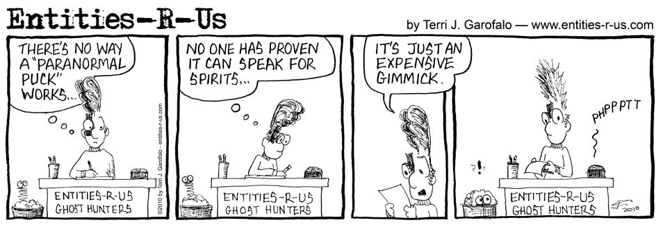 Paranormal Puck Response