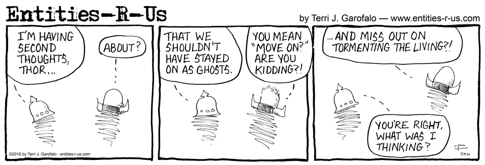 Ghost Second Thoughts