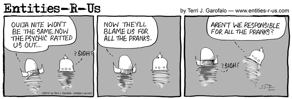 Ghost Pranks