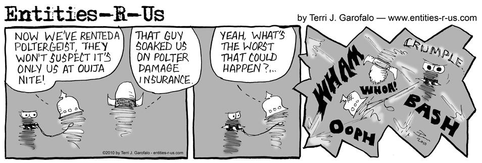 Poltergeist Damage