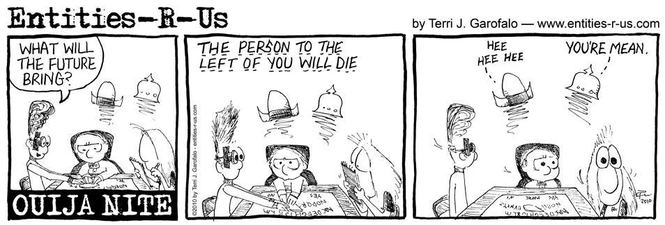 Ouija Left Die