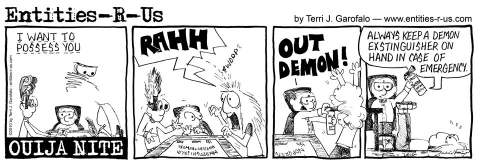 Ouija Demon Possession