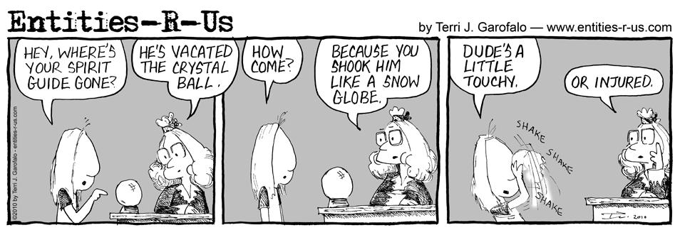 Spirit Snow Globe 2