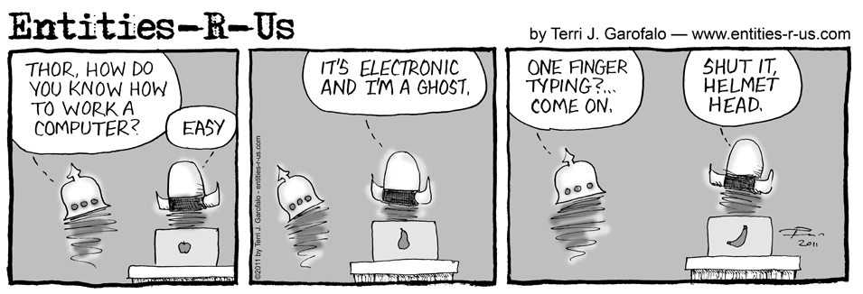 Ghost On Computer