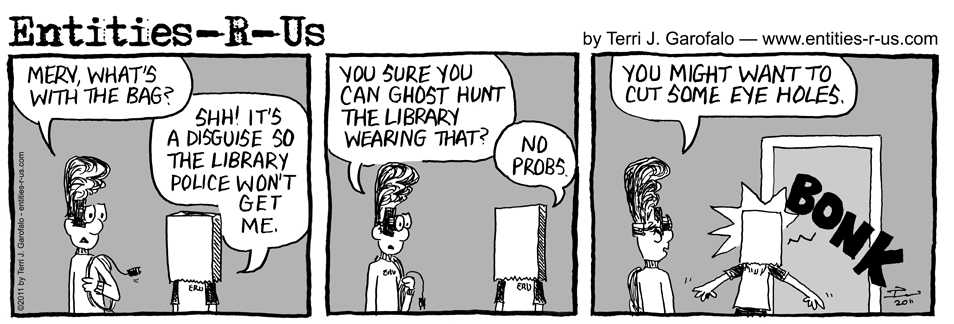 Haunted Library 2