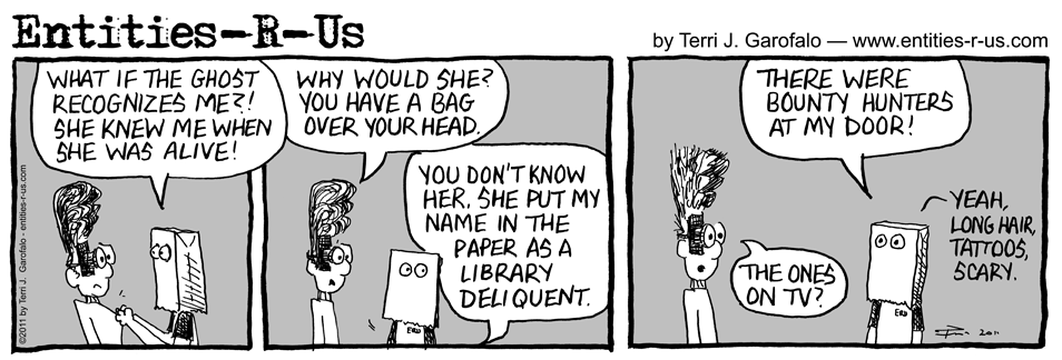 Haunted Library 4