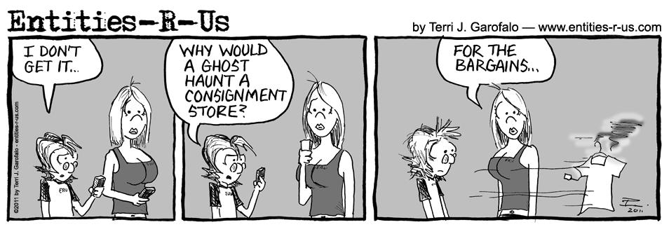 Consignment Haunt 7