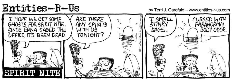 Spirit Nite Sage Odor