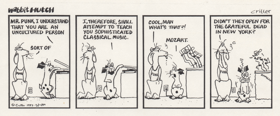 Wabbit Grateful Mozart