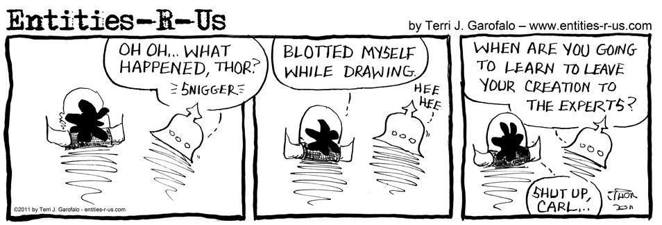 Thor Draws 5