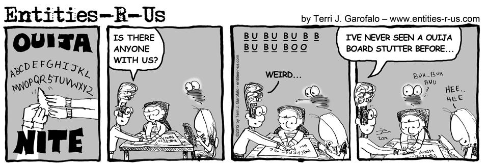 Ouija Nite Stuttering Demon