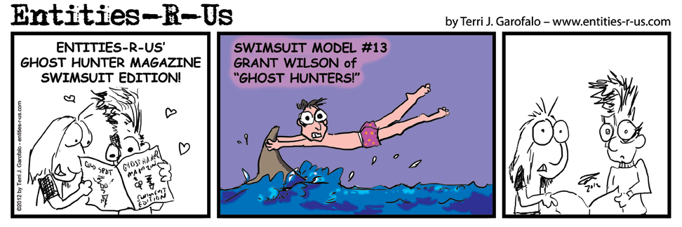 After drawing the shark in Jason's comic, I figured I would make use of it here too.