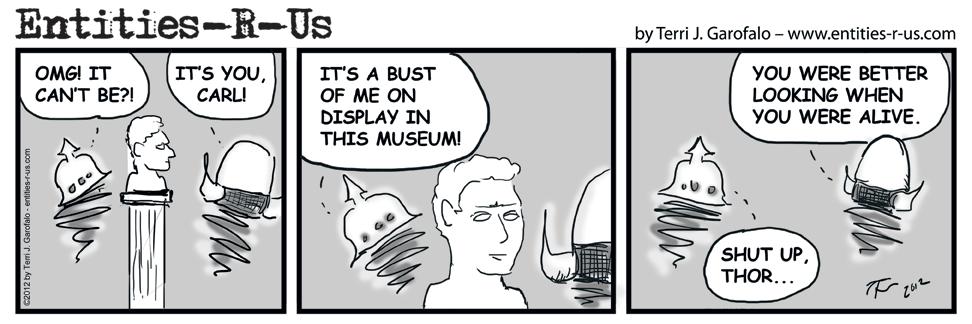 Carl's Bust – 1