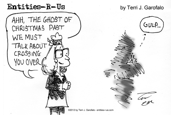 I'm somewhat sentimental about Christmas ghosts of Dickens...