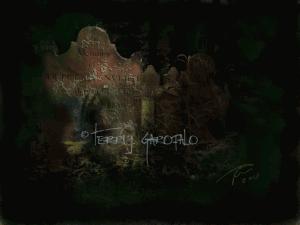 """""""In Memoriam"""" digital painting by Terri J. Garofalo"""