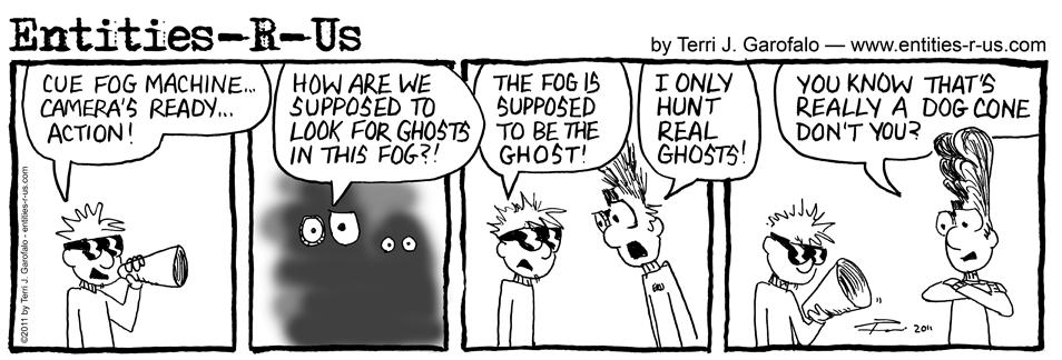 Fog Machine Ghost