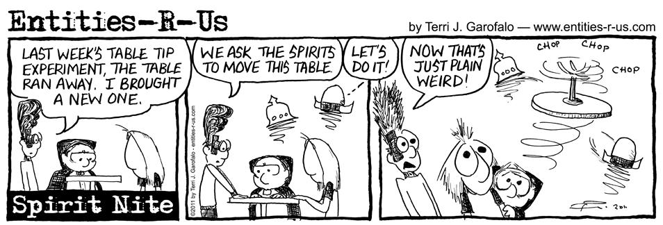 Spirit Nite Table Tip 2