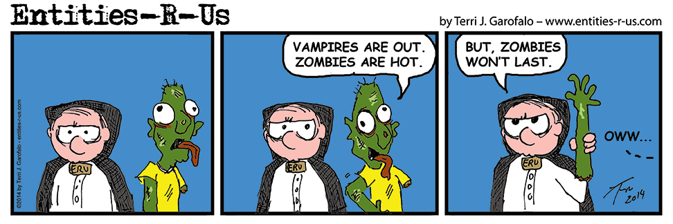 I'm still not sure why everyone likes zombies...